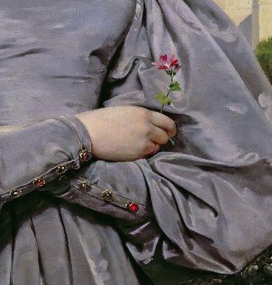 Emile Jean-Horace Vernet, Portrait of Louise Vernet, 1830