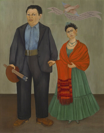 Frida Kahlo, Frida and Diego Rivera, 1931
