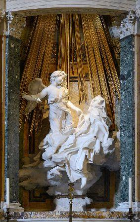 Giovanni Lorenzo Bernini, Ecstasy of St. Teresa, 1647-1651