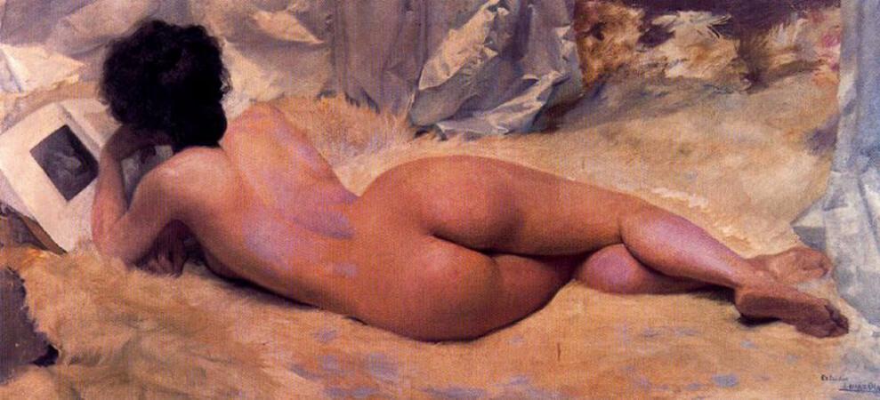 Ignacio Diaz Olano, Desnudo
