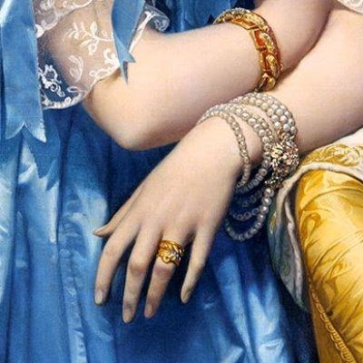 Jean Auguste Dominique Ingres, Princesse de Broglie, 1853
