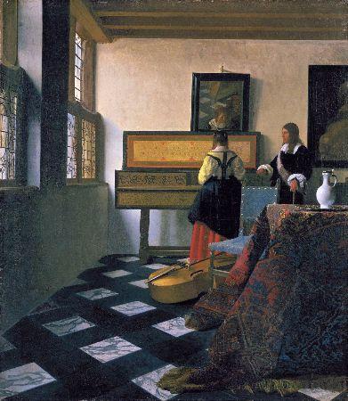 Johannes Vermeer, Music Lesson, 1662-65