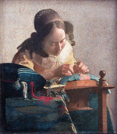 Johannes Vermeer, The Lacemaker, 1664