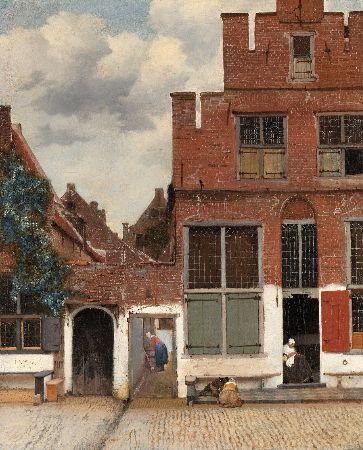 Johannes Vermeer, The Little Street, 1657-61