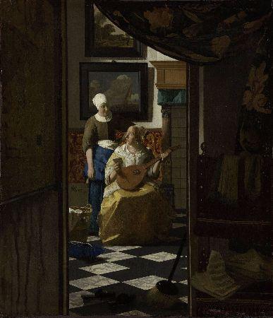 Johannes Vermeer, The Love Letter, 1667-68