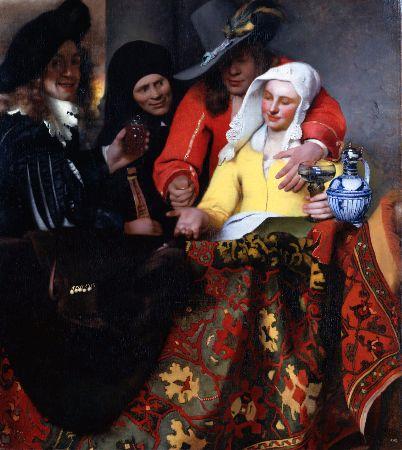 Johannes Vermeer, The Procuress, 1656