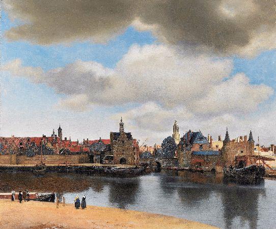 Johannes Vermeer, View of Delft, 1660-61