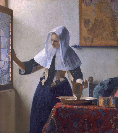Johannes Vermeer, Woman With A Water Jug, 1662