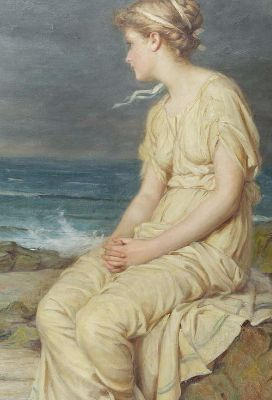John William Waterhouse, Miranda, 1875