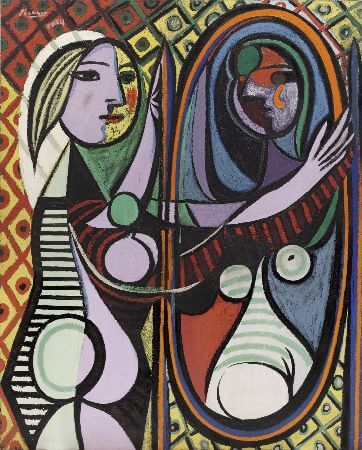 Pablo Picasso, Girl Before A Mirror, 1932