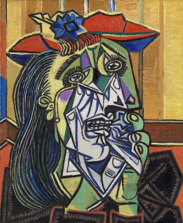Pablo Picasso, The Weeping Woman, 1937