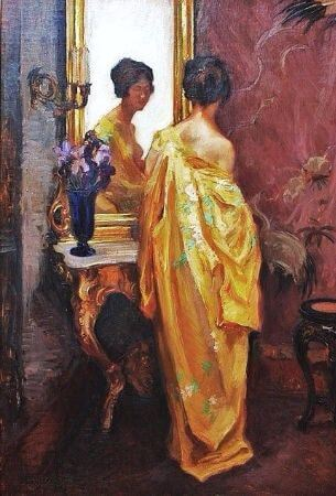 Wilhelm Hempfing, The Yellow Robe Early