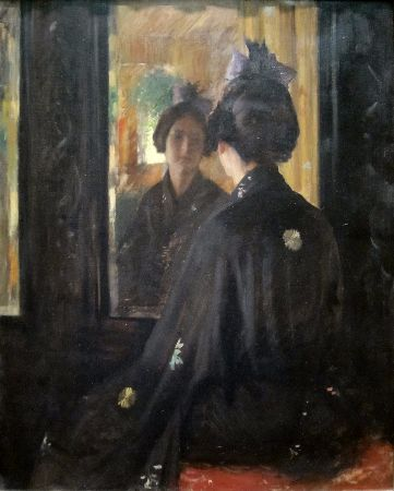 William Merritt Chase, The Mirror, 1900