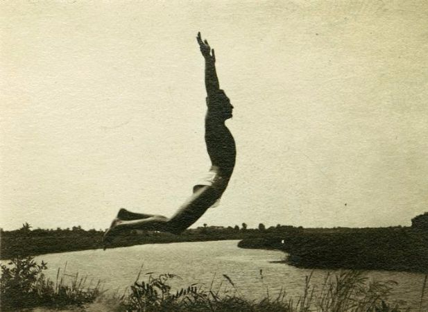 Andre Kertesz, My Brother As Icarus, 1919