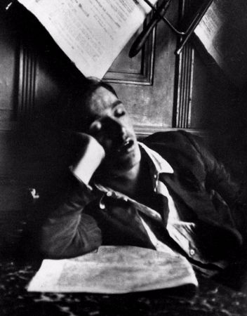 Andre Kertesz, Sleeping Man, Hungary, 1912