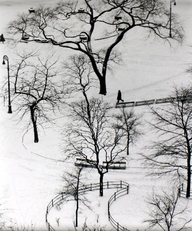 Andre Kertesz, Washington Square Park, New York City, 1954
