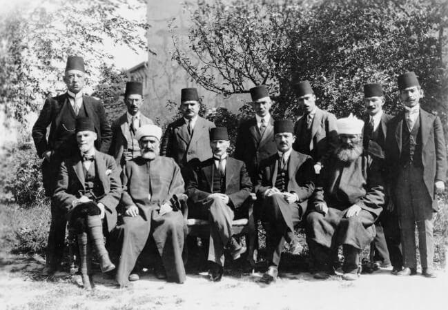 Ataturk ve Sivas Kongresi'ne katılanlar, 1919