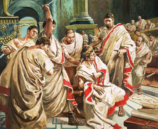 C. L. Doughty, The Death of Julius Caesar