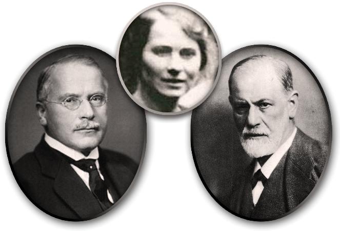 Carl Gustav Jung, Sabina Spielrein, Sigmund Freud
