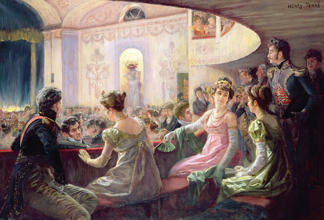 Charles Henry Tenre, The Interval At The Theatre