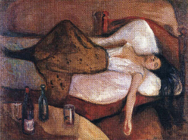 Edvard Munch, The Day After, 1894-95