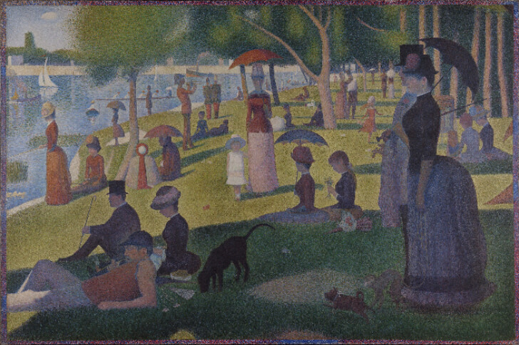 Georges Seurat, Sunday Afternoon On The Island of La Grande Jatte, 1884-86