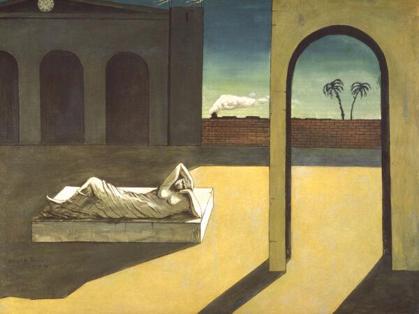 Giorgio De Chirico, The Soothsayer's Recompense, 1913