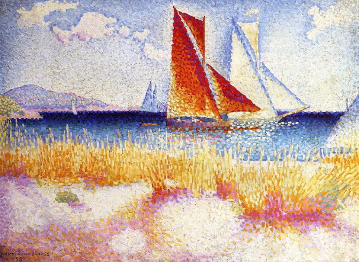 Henri-Edmond Cross, Regatta, 1895
