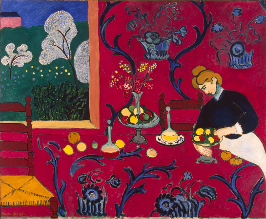 Henri Matisse, The Red Room, 1908