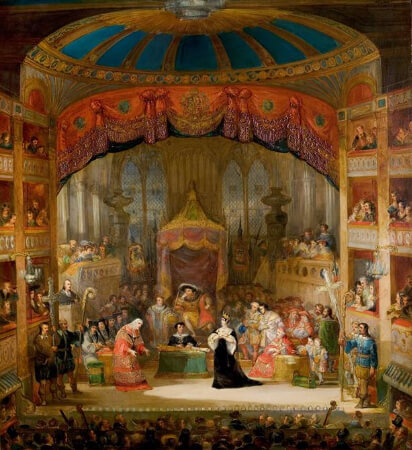 Henry Andrews, The Trial of Queen Katharine, Henry VIII, Act II, Scene 4, 1831