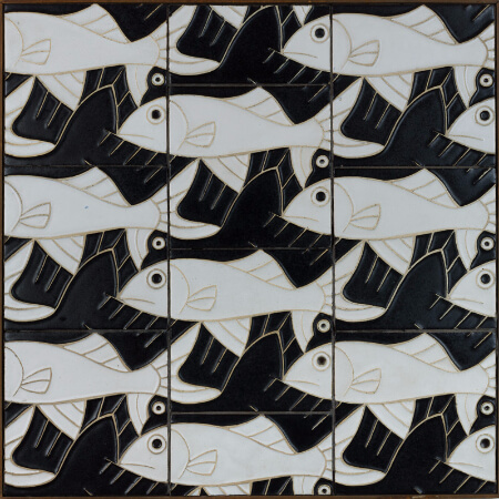 M.C. Escher, Tiles By Maurits Cornelis Escher, 1960