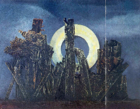 Max Ernst, The Large Forest, 1925
