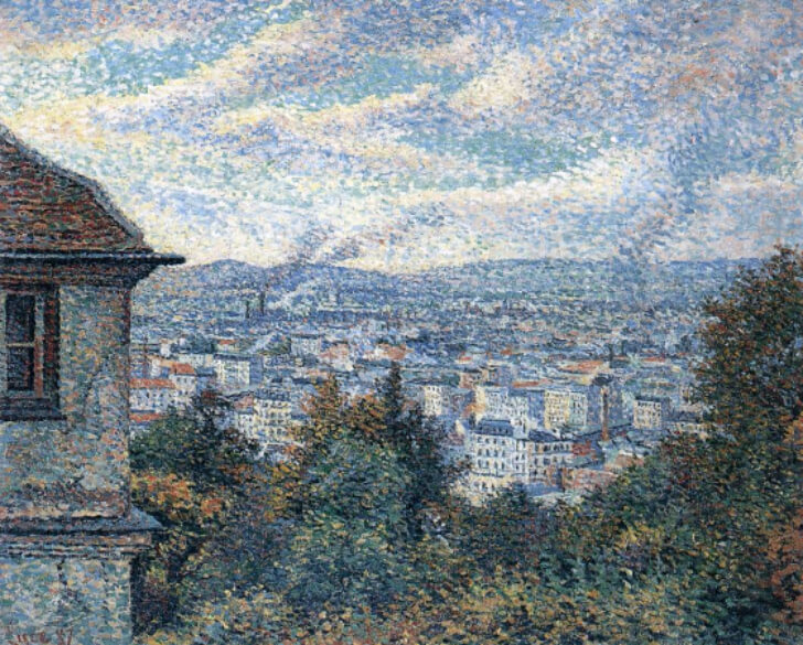 Maximilien Luce, Paris Seen From Montmartre, 1887