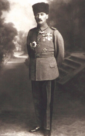 Mirliva (Tumgeneral) Mustafa Kemal, 1917