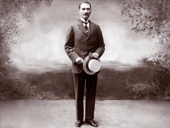 Mustafa Kemal, Avusturya Karlsbad, 1918