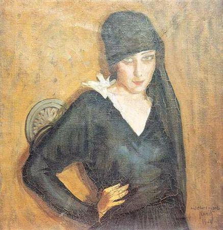 Namik İsmail, Mediha Hanim, 1920