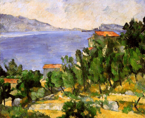 Paul Cezanne, The Bay of L'Estaque From The East, 1878-1882