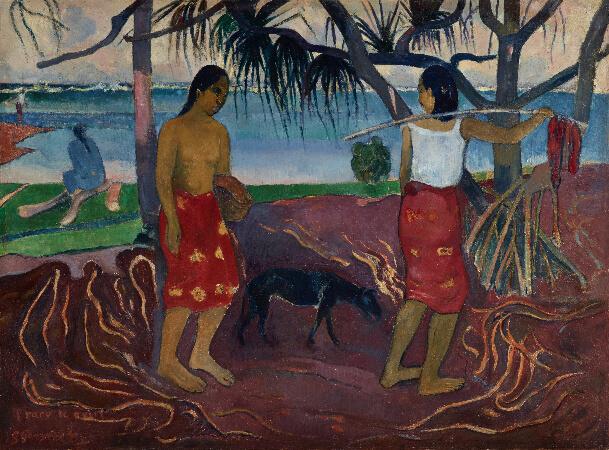 Paul Gauguin, I Raro te Oviri, 1891