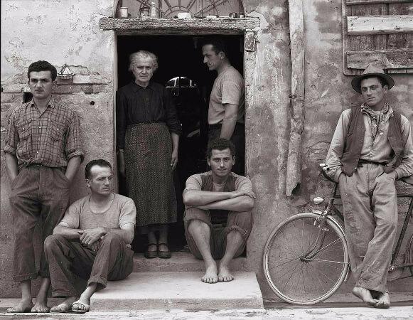 Paul Strand, İtalyan Aile, 1953