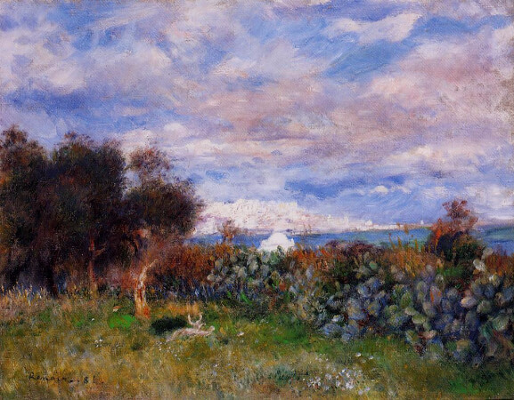 Pierre-Auguste Renoir, The Bay of Algiers, 1881