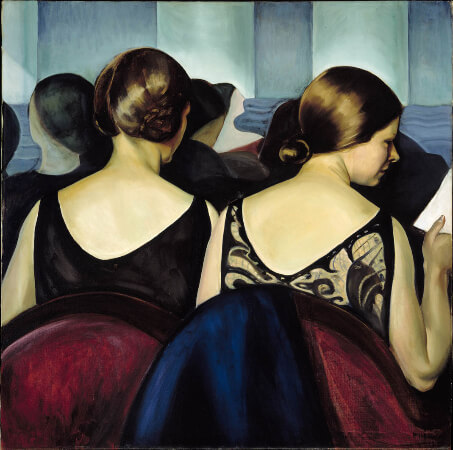 Prudence Heward, At The Theatre