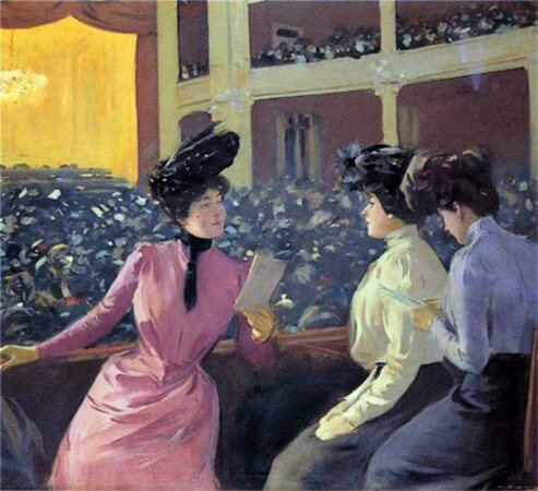 Ramon Casas, New Theatre