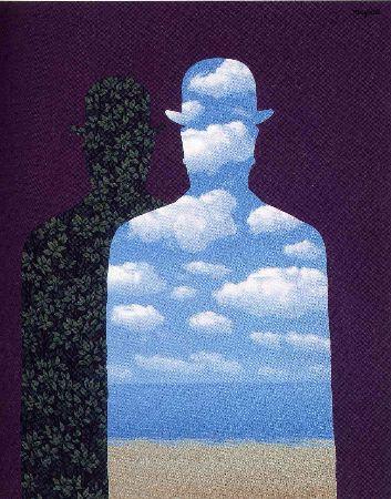 Rene Magritte, High Society, 1962