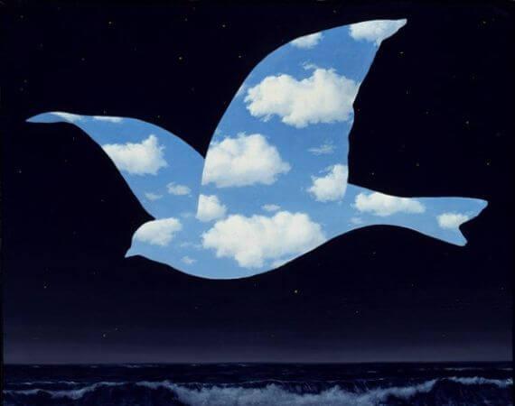 Rene Magritte, Le Baiser, 1951