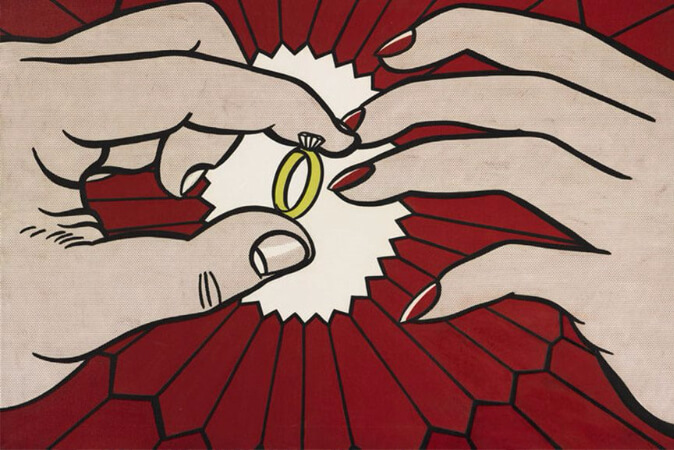 Roy Lichtenstein, The Ring (Engagement), 1962