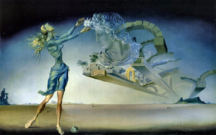 Salvador Dali, Mirage, 1946