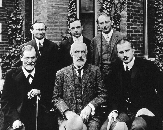 Sigmund Freud, G. Stanley Hall ve Carl Gustav Jung