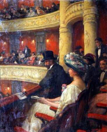 Tavik Frantisek Simon, In The Theatre