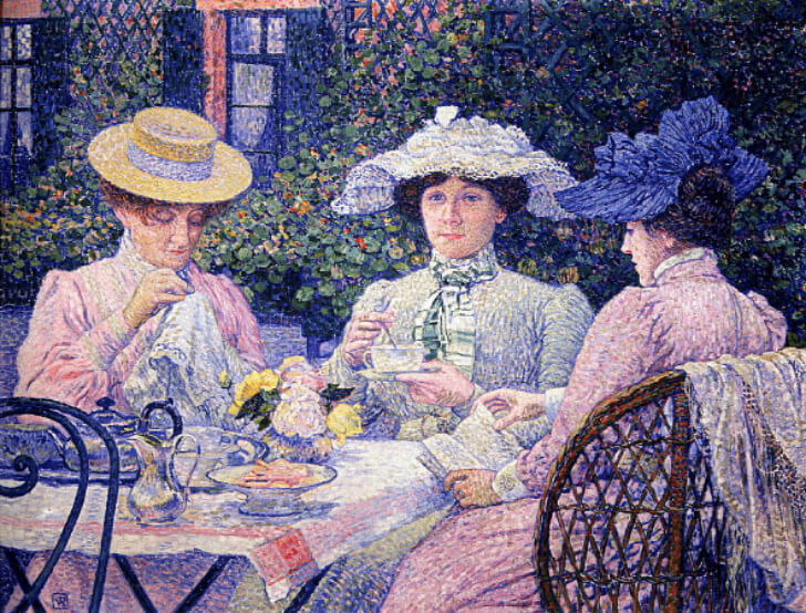 Théo Van Rysselberghe, Summer Afternoon, 1900-1902
