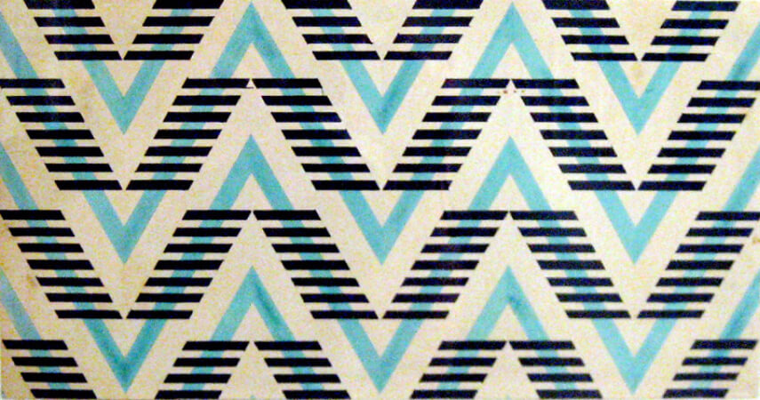 Varvara Stepanova, Pattern For A Cloth, 1924